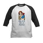 Broke Back Mama Kids Baseball Jersey