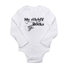 My daddy rocks Onesie Romper Suit