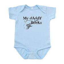 My daddy rocks Onesie
