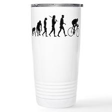 Cycling Evolution Ceramic Travel Mug