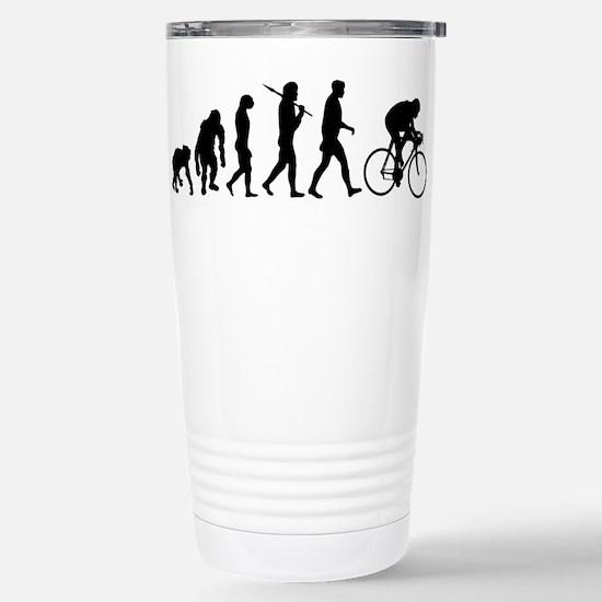 Cycling Evolution Stainless Steel Travel Mug