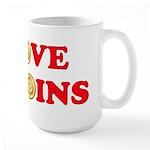Bitcoins-4 Large Mug