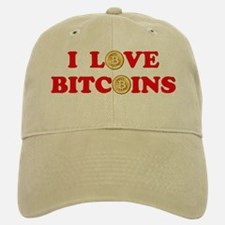 Bitcoins-4 Baseball Baseball Cap