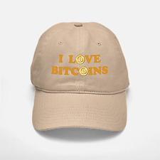 Bitcoins-6 Baseball Baseball Cap