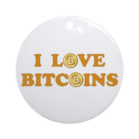 Bitcoins-6 Ornament (Round)