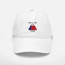 Texan Food Pyramid Baseball Baseball Cap