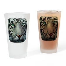 White Tiger Pint Glass