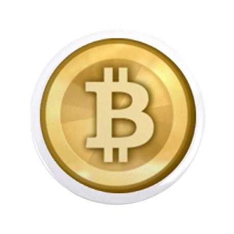 "Bitcoins-5 3.5"" Button (100 pack)"