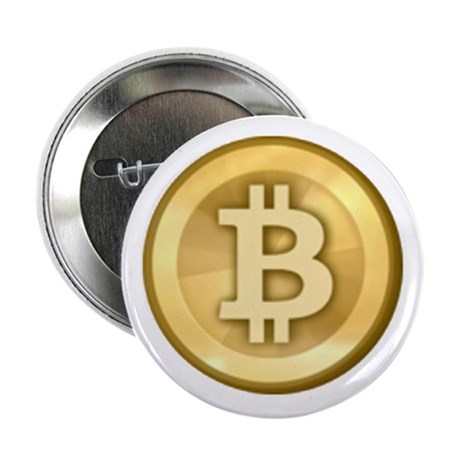 "Bitcoins-5 2.25"" Button (10 pack)"
