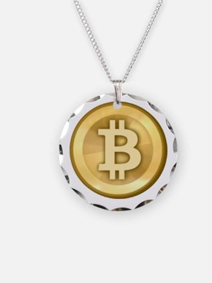 Bitcoins-5 Necklace