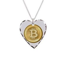 Bitcoins-5 Necklace