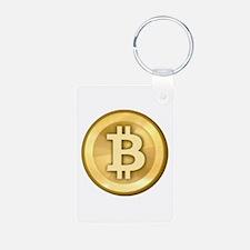 Bitcoins-5 Keychains