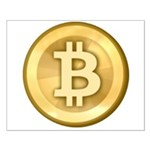 Bitcoins-5 Small Poster