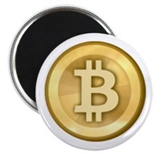 "Bitcoins-5 2.25"" Magnet (100 pack)"