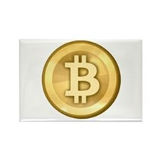 Bitcoins-5 Rectangle Magnet (10 pack)