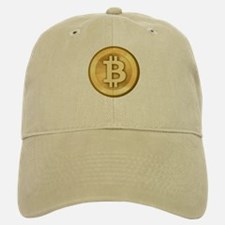 Bitcoins-5 Baseball Baseball Cap