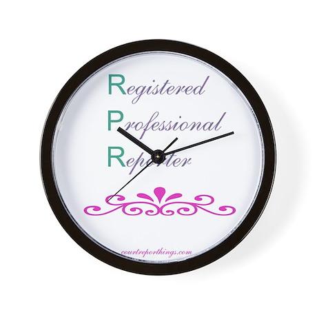 RPR Wall Clock