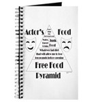 Actor's Food Pyramid Journal