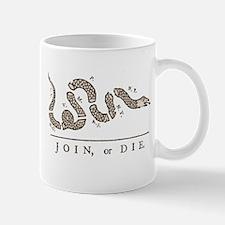 Join or Die Snake Mug