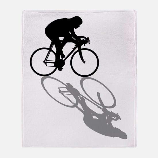 Cycling Bike Throw Blanket