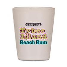 Tybee Island Beach Bum - Shot Glass