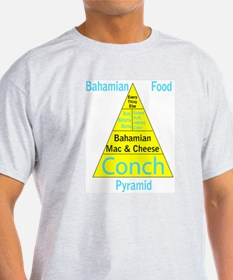 Bahamian Food Pyramid T-Shirt