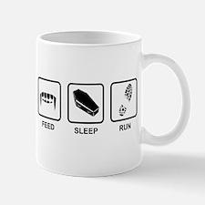 Feed, Sleep, Run - Vampire Runner Mug