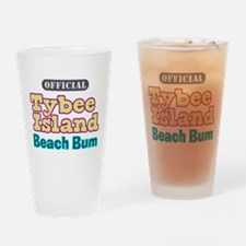 Tybee Island Beach Bum Pint Glass