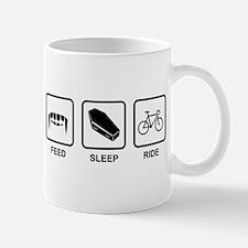 Feed, Sleep, Ride - Vampire Cyclist Mug