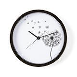 Dandelion Wall Clocks