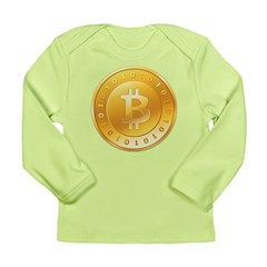 Bitcoins-1 Long Sleeve Infant T-Shirt