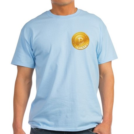 Bitcoins-1 Light T-Shirt