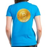 Bitcoins-1 Women's Dark T-Shirt