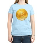 Bitcoins-1 Women's Light T-Shirt