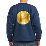 Bitcoins-1 Sweatshirt (dark)