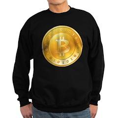 Bitcoins-1 Sweatshirt (dark)