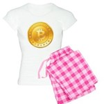 Bitcoins-1 Women's Light Pajamas