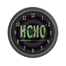 HCHO Wall Clock