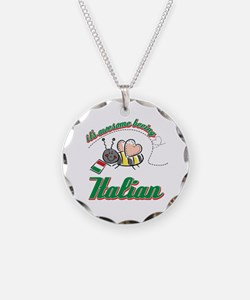 Awesome Being Italian Necklace