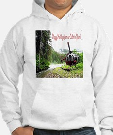 Holiday Helicopter Cabin Hoodie