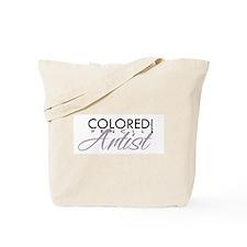 COLORED PENCIL Magazine - Pur Tote Bag