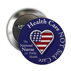 "NN Patriotic Heart 2.25"" Button (10 pack)"