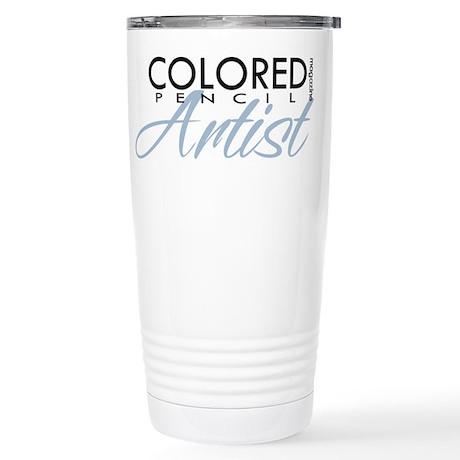 CPM - Blue Stainless Steel Travel Mug