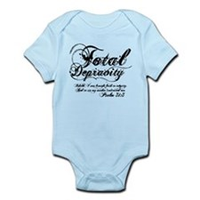 Total Depravity Psalm 51:5 - Infant Bodysuit