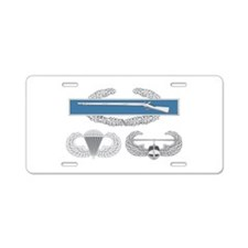 CIB Airborne Air Assault Aluminum License Plate