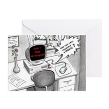 Funny Computer Mouse Greeting Cards (Pk of 10)