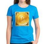 Bitcoins-3 Women's Dark T-Shirt