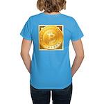 Bitcoins-3 Women's Dark T-Shirt