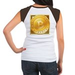 Bitcoins-3 Women's Cap Sleeve T-Shirt