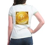 Bitcoins-3 Jr. Ringer T-Shirt